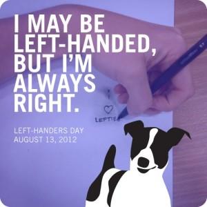 Left-Handers' Day
