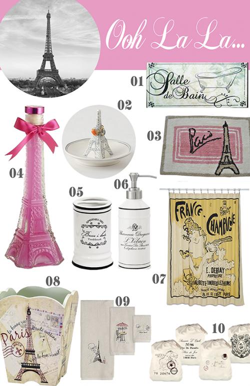 10 Paris Items For The Bathroom Marianne Mcgoldrick