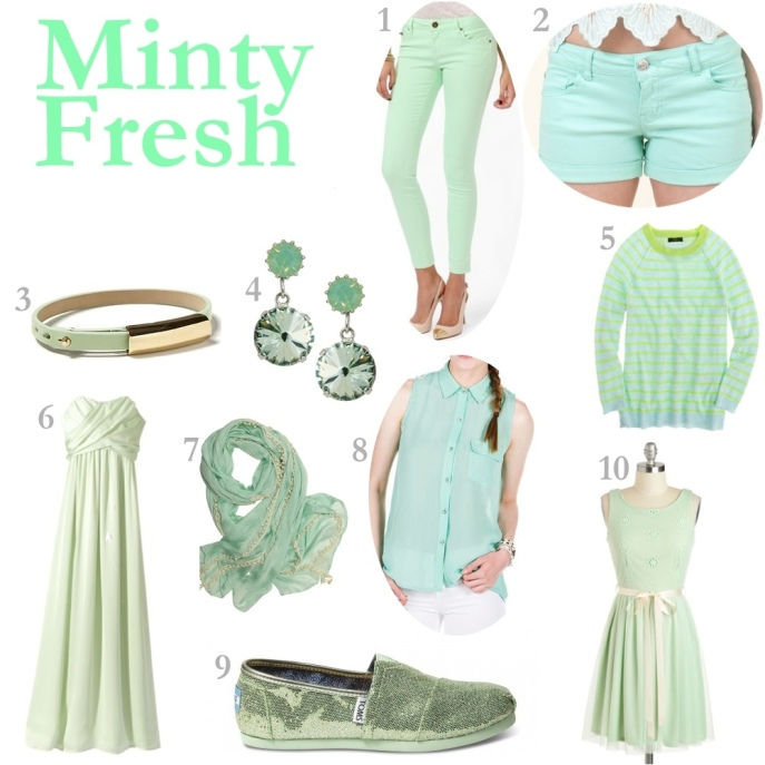 Mint Green Clothing